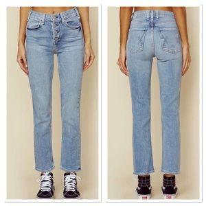 McGuire Denim Valletta Cropped Straight Jeans 25
